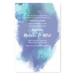 Boho Romance Rehearsal Dinner Invitations