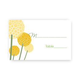 Allium Seating Card