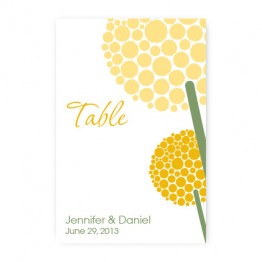 Allium Table Cards
