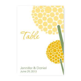Allium Table Cards
