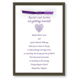 Amore Wedding Invitations