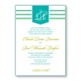 Anchor 2-Layer Wedding Invitations