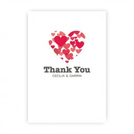 Holly Thank You Cards