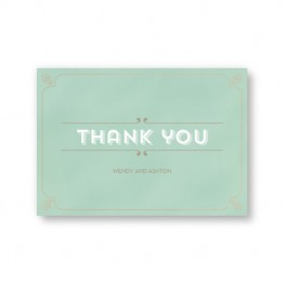 Aurora Thank You Cards