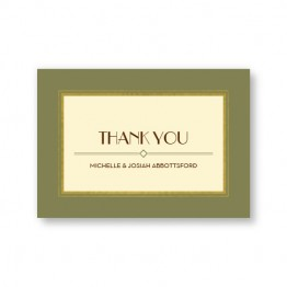 Fern Thank You Cards