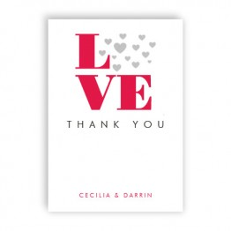 Courtney Thank You Cards