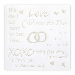 Words of Love Wedding Invitations