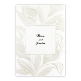 Iridescent Lilies Wedding Invitations