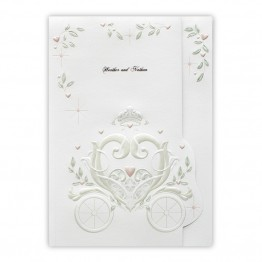 Fantasy Carriage Wedding Invitations - LIMITED STOCK AVAILABLE