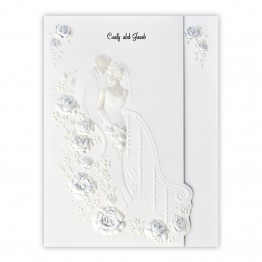 Sweetheart Stairway Wedding Invitations - LIMITED STOCK AVAILABLE