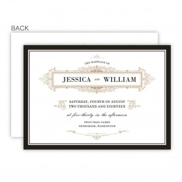 Clara Wedding Invitations