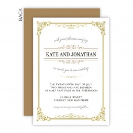 Skyla Wedding Invitations - Real Foil Wedding Invitations!