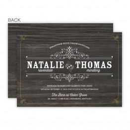 Helena Wedding Invitations - Real Foil Wedding Invitations!