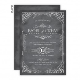 Maggie Wedding Invitations - Real Foil Wedding Invitations!