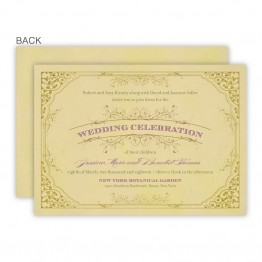 Melanie Wedding Invitations - Real Foil Wedding Invitations!