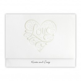 Heart of Love Wedding Invitations