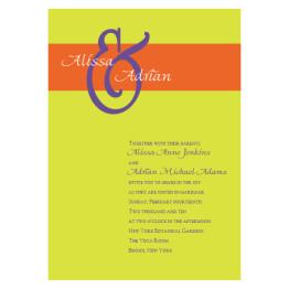 Elation Wedding Invitations