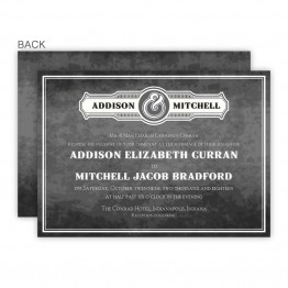 Slated Love Wedding Invitations