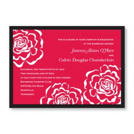 Bella Rose Wedding Invitations