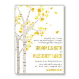 Birch 2-Layer Wedding Invitations