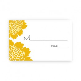 Bliss Seating Card