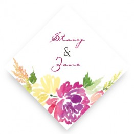 Blossoming Blooms Favor Tags