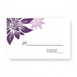 Blossoming Love Seating Cards