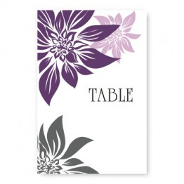 Blossoming Love Table Cards