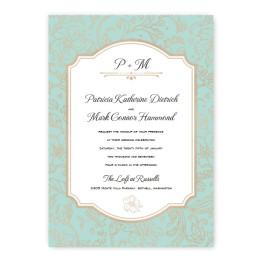 Brianne Wedding Invitations - Real Foil Invitation!