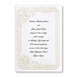 Bridal Dreams Wedding Invitations - LIMITED STOCK ON HAND
