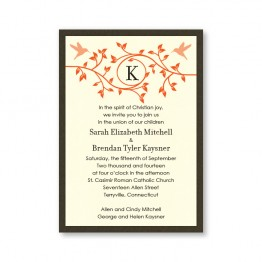 Bright Beginnings Wedding Invitations