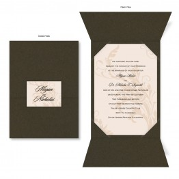 Champagne Wedding Invitations - LIMITED STOCK AVAILABLE