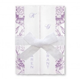 Charmed Floral Wedding Invitations - LIMITED STOCK AVAILABLE