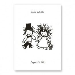 Children of the Inner Light - Holding Hands Wedding Invitations