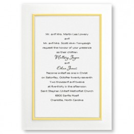 Color Kicked Classics Wedding Invitations - LIMITED STOCK ON HAND