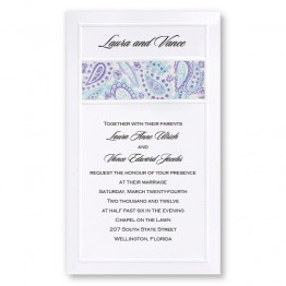 Colorful Perfection Wedding Invitations