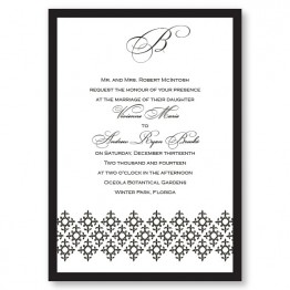 Contessa Wedding Invitations