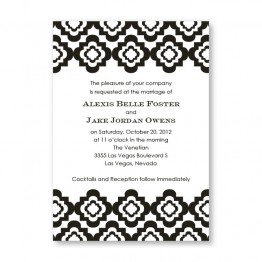 Creative Edges Wedding Invitations