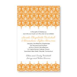 Elite Letterpress Wedding Invitations