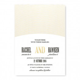 Ellington Foil Wedding Invitations