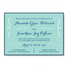 Embrace 2-Layer Wedding Invitations
