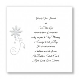 Enchanted Daisy Wedding Invitations - LIMITED STOCK ON HAND