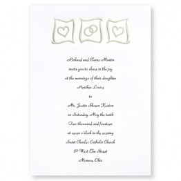 Eternal Love Wedding Invitations - LIMITED STOCK ON HAND