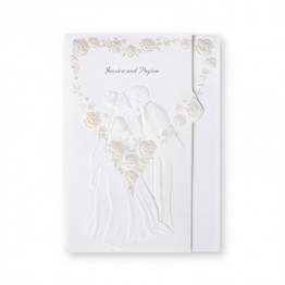 First Kiss Wedding Invitations - LIMITED STOCK AVAILABLE