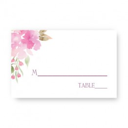 Floral Affair Seating Cards