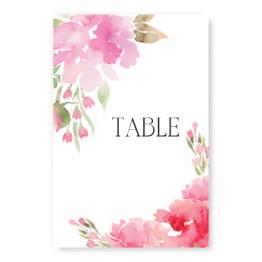 Floral Affair Table Cards