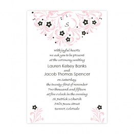 Floral Allure Wedding Invitations