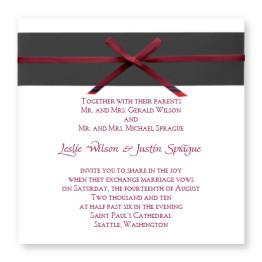 Formal Affair Wedding Invitations