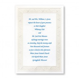 Framed in Elegance Wedding Invitations - LIMITED STOCK ON HAND