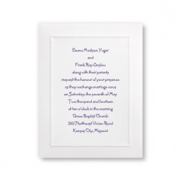 Framed in Tradition Wedding Invitations - LIMITED STOCK ON HAND